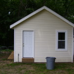 Custom Shed w/foundation