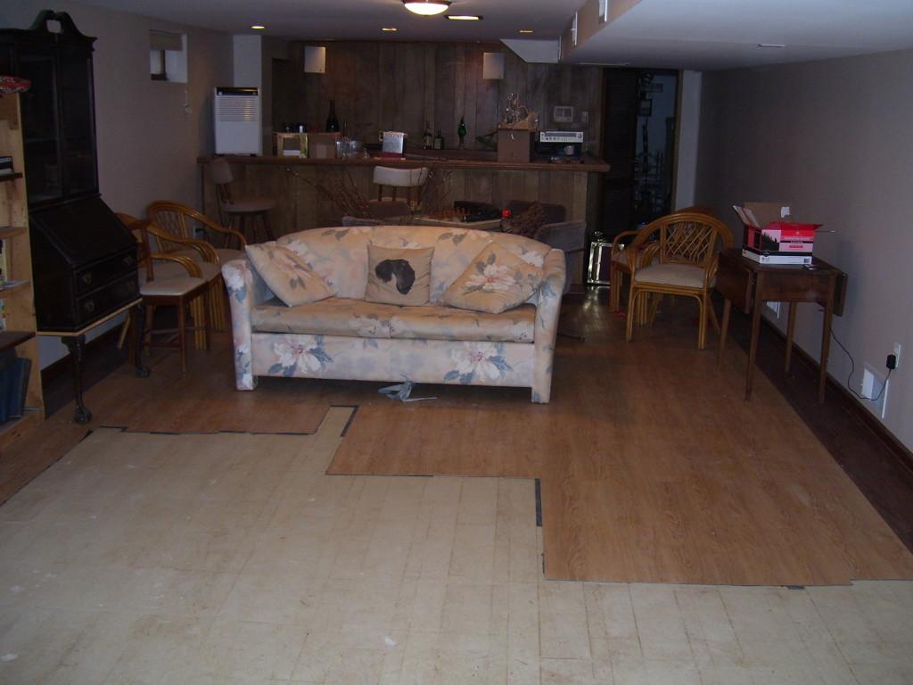 Old flooring x2