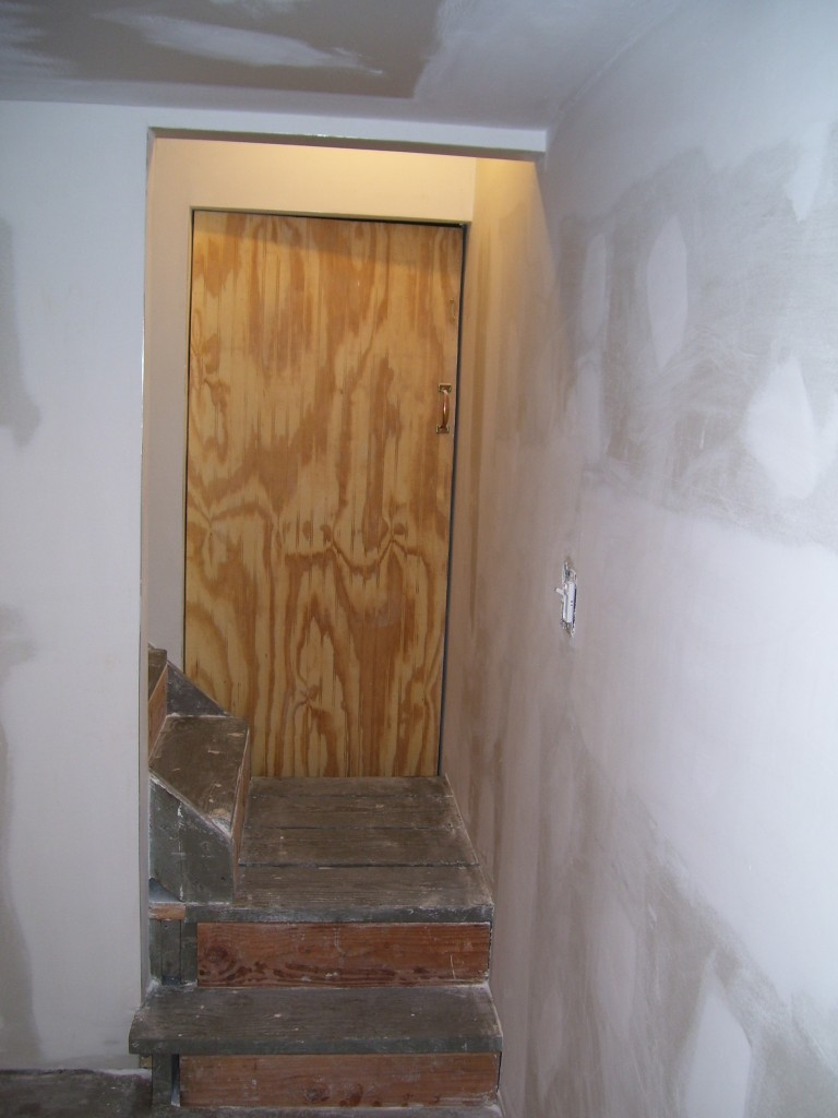 custom backroom door